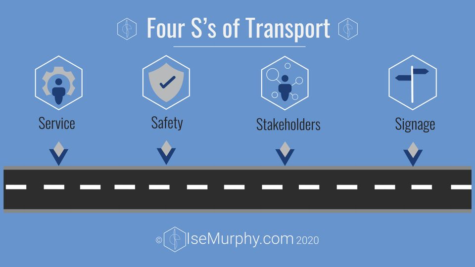 The Four S of Event Transport